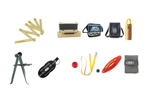 Accessoires indispensables de la pétanque