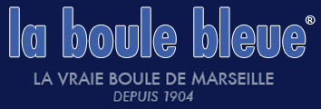 Logo de la marque de boules de pétanque La Boule Bleue
