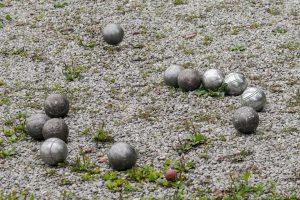 L'usure des boules de pétanque