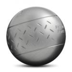 Idée cadeau de Noël, les boules de pétanque Obut loisir Inox motif chevron