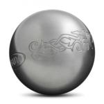 Idée cadeau de Noël, les boules de pétanque Obut loisir Inox motif tatou