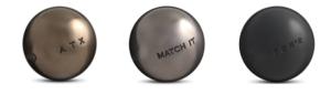 Boules de pétanque de compétition homologuées