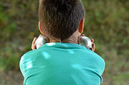 boules de pétanque pour les enfants