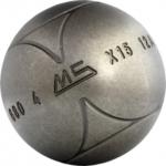 Boule de pétanque pour joueur de type pointeur Strx avec stries de Ms Pétanque