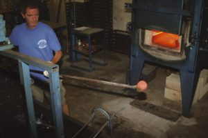 Fabrication des boules de pétanque La Boule Bleue Cuisson