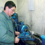 Fabrication des boules de pétanque La Boule Bleue Striage