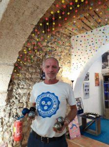 Hervé Rofritsch, dirigeant de La Boule Bleue