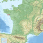 carte de situation de l'île d'Hoedic en France