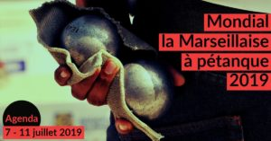 Affiche du Mondial La Marseillaise 2019