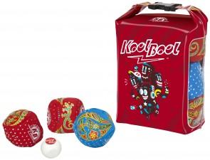 Jeu Kookbool et ses 6 boules souples en tissu