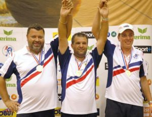 Légende de la pétanque Le Dream Team