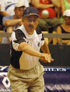 Christian Fazzino, un joueur de légende à la pétanque