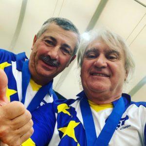 Christian Fazzino et Marco Foyot des légendes de la pétanque