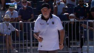 Claudy Weibel, un joueur de pétanque de légende
