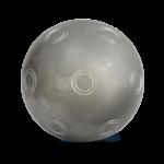 boule de pétanque pour tireur saturne inox tendre de chez Boulenciel