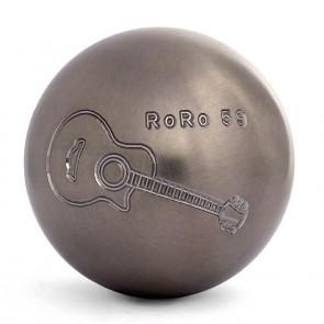 boule de pétanque gravée guitare pour communiquer