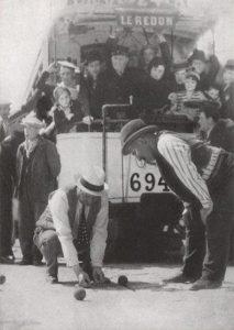 scène du film Fanny la pétanque sur le tramway