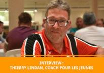 Thierry Lindan, coach de pétanque pour les jeunes