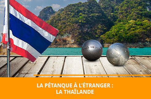 La pétanque en Thaïlande
